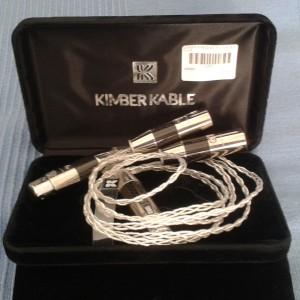 Kimber 1.00m XLR -KCAG +Furutech Carbon Fiber