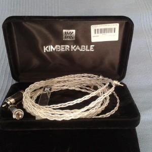 Kimber 1.5m RCA KCAG +Furutech Rhodium carbon