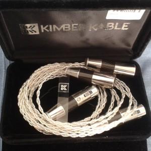Kimber 1,5m KCAG XLR-Furutech Rodium carbon
